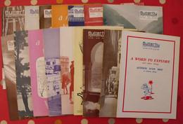 16 Revues Butterfly, English-French Magazine. Revue Pédagogique1959-1961 - Pédagogie