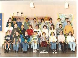 Photo De Classe 18 Bourges - Collège Saint-Exupéry - 6ème 3 (1994-1995) - Unclassified
