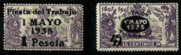 España Nº 761/2 En Nuevo - 1931-50 Nuevos & Fijasellos