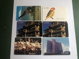 Tanzania - 6 Different Chipcards - Tanzania
