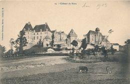 CPA 24. Château De Biron Non Circulée Vaches - Other Municipalities