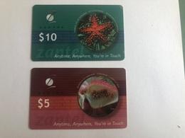 Tanzania - 2 Nice Prepaid Cards - Tanzania