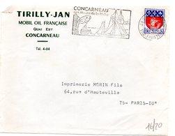 MARINE = 29 CONCARNEAU 1968 = FLAMME Codée = SECAP Illustrée D'un POISSON  'Musée De PECHE' - Postmark Collection (Covers)