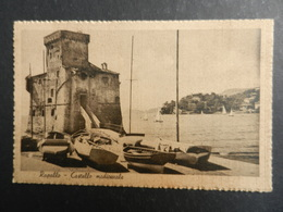 19964) RAPALLO CASTELLO MEDIOEVALE VIAGGIATA 1942 - La Spezia