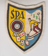 écusson Spa 1960 - Ecussons Tissu