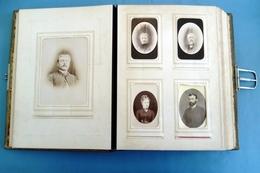 Magnifique Album 81 CDV Original Sur Une Famille D'Avranches 50300 Dans La Manche - Photo Allix, Hay, Yvondi, 1880's - Alben & Sammlungen