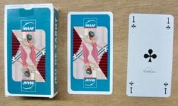 JEU DE 78 CARTES TAROT AVEC ETUI MAAF / CALLI CARTES / AVEC CARTE DE REGLE JEU - Cartes à Jouer Classiques