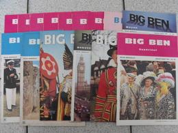 15 Revues Big Ben, English-French Magazine. Revue Pédagogique1974-1984 - Pédagogie