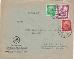 DANZIG 1941 LETTRE POUR BERLIN - Danzig
