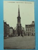 Molenbeek Place De La Duchesse Eglise Sainte-Barbe - St-Jans-Molenbeek - Molenbeek-St-Jean