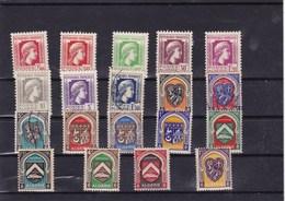 ALGERIE : Y&T : Lot De 19 Timbres * Et O - Algérie (1924-1962)