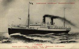 COMPAGNIE GENERALE TRANSATLANTIQUE LAFAYETTE - Steamers