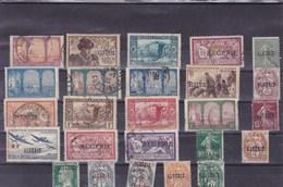 ALGERIE : Y&T : Lot De 25 Timbres  Oblitérés - Algérie (1924-1962)