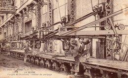 83 LA SEYNE SUR MER FORGES ET CHANTIERS ATELIER DE PERCAGE CLICHE UNIQUE - La Seyne-sur-Mer