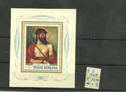Rumania_045,1968, Sc.2006, Ecce Homo, Tiziano - 1948-.... Repubbliche
