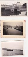 Lot De 6 Photographies Amateur / Bateau, Péniche (Boat, Barge, Boot, Hausboot) (Provenance Belgique) - Boats