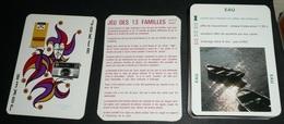 Rare Jeu De 56 Cartes, 2 Jeux En 1 Le Rami Et Des 13 Familles, Appareils KODAK Films, Les Règles D'or De La Photo, Joker - Zonder Classificatie