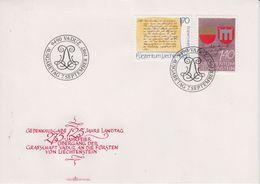Liechtenstein 1987 125J. Landtag 2v FDC (43866) - FDC