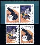 "GREENLAND/Grönland EUROPA 2019 ""National Birds""  Set Of 4v** Gummed & Adhesive - 2019"