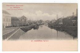 27. COURTRAI. La Lys - Kortrijk