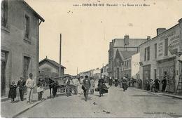 Croix De Vie La Gare Et Le Quai - Andere Gemeenten