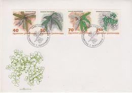 Liechtenstein 1992 Plants 4v FDC (43871) - FDC