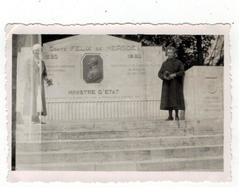 Monument De COMPTE FELIX DE MERODE  MINISTRE D'ETAT  (photo 9x6,5 Cm) 1934 - Rixensart