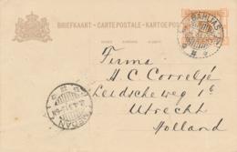 Nederlands Indië - 1931 - 5 Cent Opdruk Op 7,5 Cent Cijfer, Briefkaart G44 Van LB BAHLIAS Naar Utrecht - Nederlands-Indië
