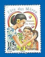 "2014 - Fête Des Mères - ""Maman On T'aime"" - 115 F - Gebruikt"