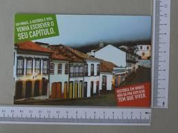 BRAZIL - OURO PRETO -  MINAS GERAIS -   2 SCANS    - (Nº30061) - Belo Horizonte