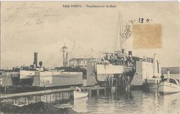 TUNISIE - BAIE PONTY - TORPILLEURS SUR LE DOCK - Nombreux Hommes Sur Le Torpilleur - Bateaux - Tunisie