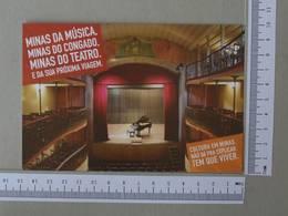 BRAZIL - CASA DA OPERA - OURO PRETO -  MINAS GERAIS -   2 SCANS    - (Nº30062) - Belo Horizonte