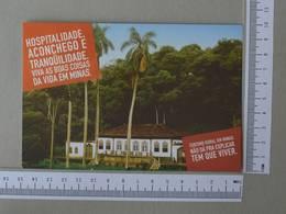 BRAZIL - CHÁCARA BARÕ - SERRO -  MINAS GERAIS -   2 SCANS    - (Nº30063) - Belo Horizonte
