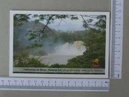 ANGOLA - CACHOEIRA DO BINGA -  KWANZA SUL -   2 SCANS    - (Nº30069) - Angola