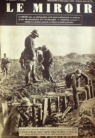 LE MIROIR-1939-17-LIGNE MAGINOT-KEHL-U BOOT-L'ALSACE/LORRAINE-NEVILLE CHAMBERLAIN (photos Pages Détaillées) - Periódicos