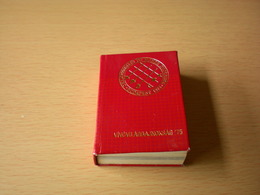 Fencing Old Small Book Championnats Du Monde D Escrime 75 Vilagbajnoksag 75 194 Pages - Fencing