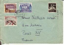 Tchécoslovaquie - Belle Enveloppe - - Tschechoslowakei/CSSR