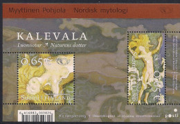 2004 Finnland Mi. Bl 33**MNH    NORDEN - Nordische Mythen - Finland