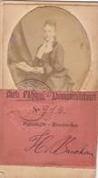 CDV Carte Abonné Exposition 1894 Anvers - Photos