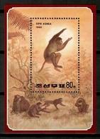 Korea North 1992 Corea / Fauna Mammals Monkeys MNH Mamíferos Monos Säugetiere / Cu12804  36-44 - Scimmie