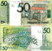 BELARUS 50 Rubles P 40 Denomination Reform 2009 ( 2016 )  UNC - Belarus