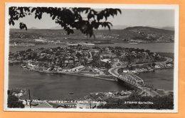 Vitoria Brazil Old Real Photo Postcard - Vitória