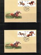 Ukraine 2006 Horse Races Interesting Cover FDC - Hípica