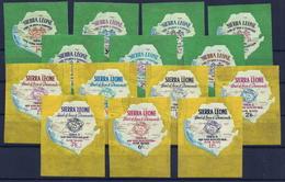 Sierra Leone 251/267 ** - Sierra Leone (1961-...)