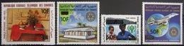 COMORES                   PA 189/192                      NEUF** - Comores (1975-...)