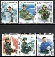 China 2017 / Military Corps Soldiers Army MNH Militares / Cu11138  C5-26 - Militares