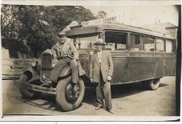 54.LONGWY.   CARTE PHOTO  AUTOCAR CITROEN - Longwy