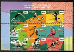 Indonesia 2018 / Sport Asian Games MNH Deportes Juegos Asiáticos / Cu10904  C5-31 - Francobolli