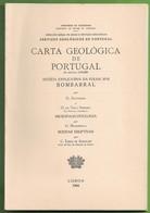 Bombarral - Carta Geológica De Portugal + Mapa. Leiria. - Geographical Maps