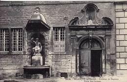 25 - BESANCON-les-BAINS  - Fontaine De Neptune - Porte Des Carmes - - Besancon